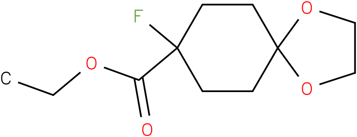 ethyl 8-fluoro-1,4-dioxaspiro[4.5]decane-8-carboxylate