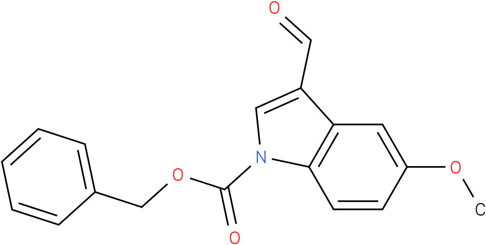 BENZYL 3-FORMYL-5-METHOXY-1H-INDOLE-1-CARBOXYLATE