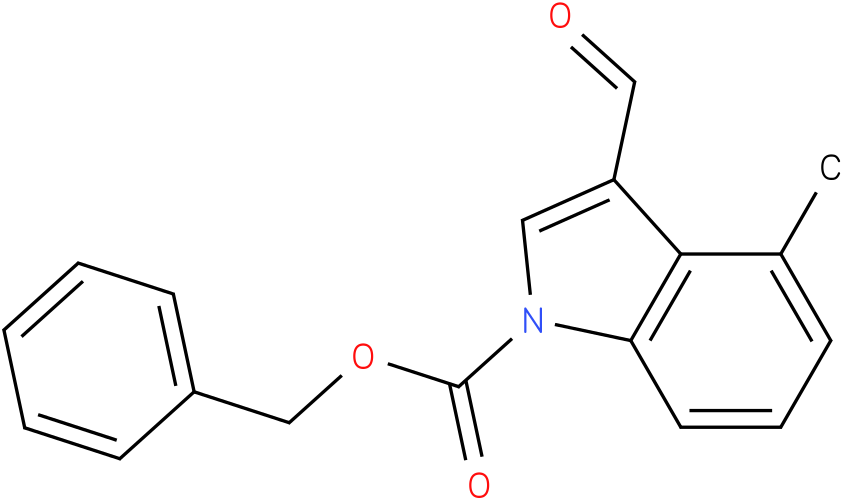 BENZYL 3-FORMYL-4-METHYL-1H-INDOLE-1-CARBOXYLATE