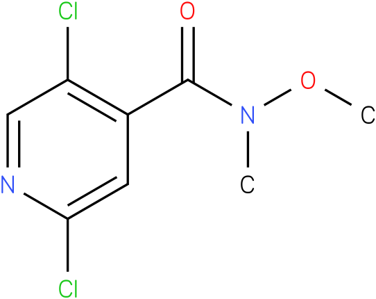 2,5-dichloro-N-methoxy-N-methylisonicotinamide