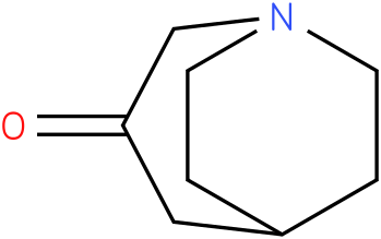 1-azabicyclo[3.2.2]nonan-3-one