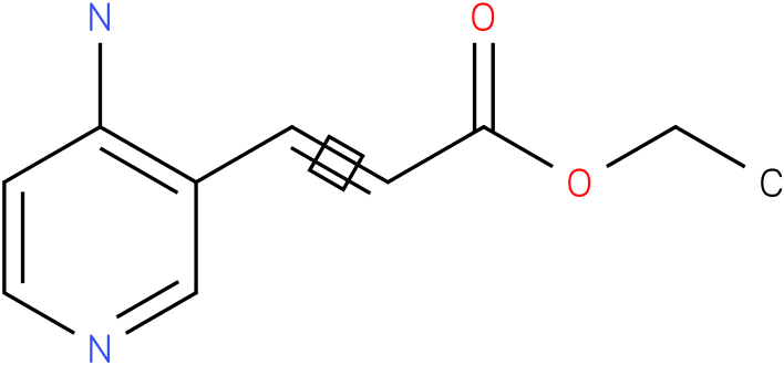 ethyl 3-(4-aminopyridin-3-yl)acrylate