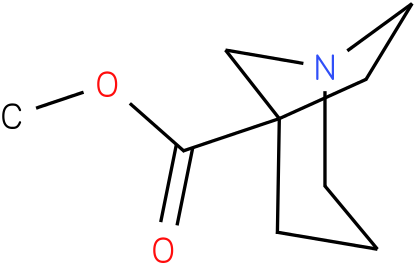 methyl 1-azabicyclo[3.2.1]octane-5-carboxylate