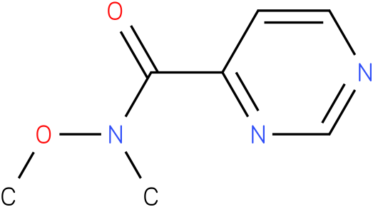 N-methoxy-N-methylpyrimidine-4-carboxamide