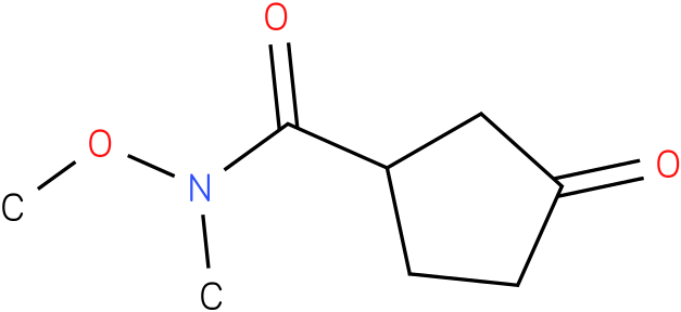 N-methoxy-N-methyl-3-oxocyclopentanecarboxamide