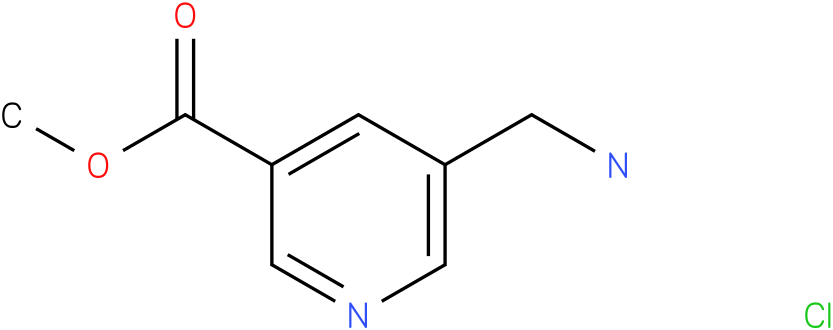 METHYL 5-AMINOMETHYL-3-PYRIDINE-CARBOXYLATE HYDROCHLORIDE