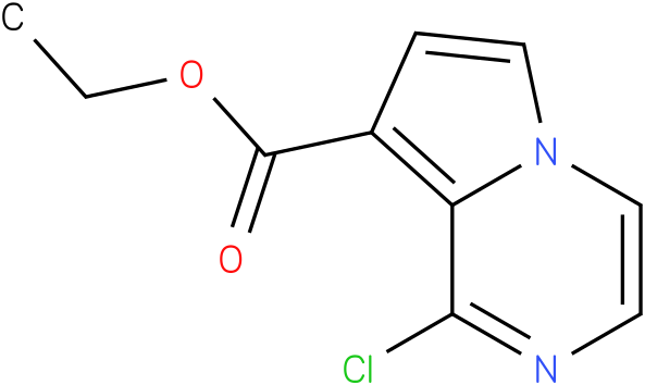 ethyl 1-chloropyrrolo[1,2-a]pyrazine-8-carboxylate