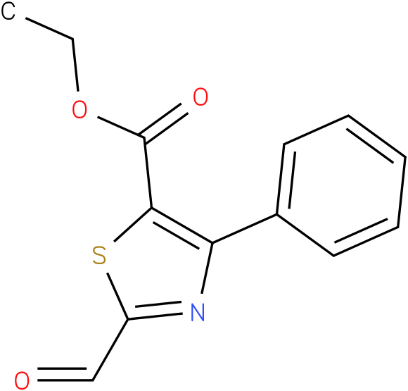 ethyl 2-formyl-4-phenylthiazole-5-carboxylate