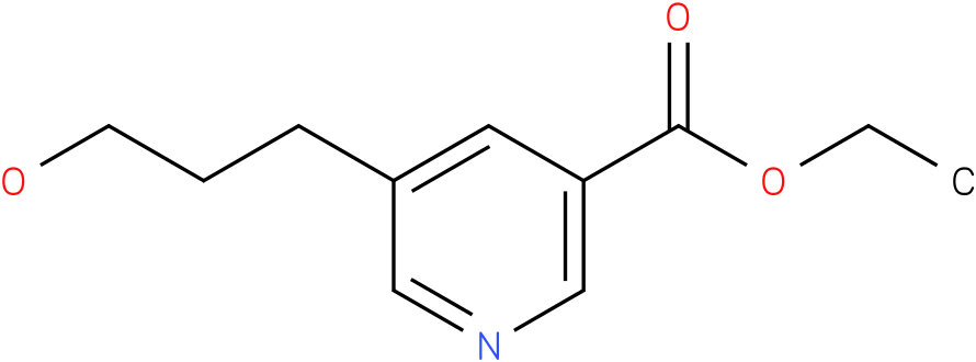 ethyl 5-(3-hydroxypropyl)nicotinate