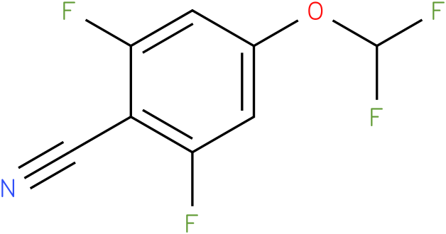 4-(difluoromethoxy)-2,6-difluorobenzonitrile