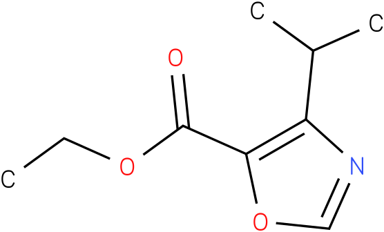 ETHYL 4-ISOPROPYLOXAZOLE-5-CARBOXYLATE