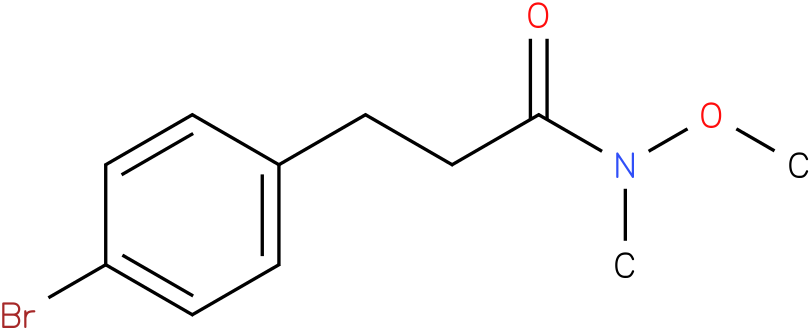 3-(4-bromophenyl)-N-methoxy-N-methylpropanamide