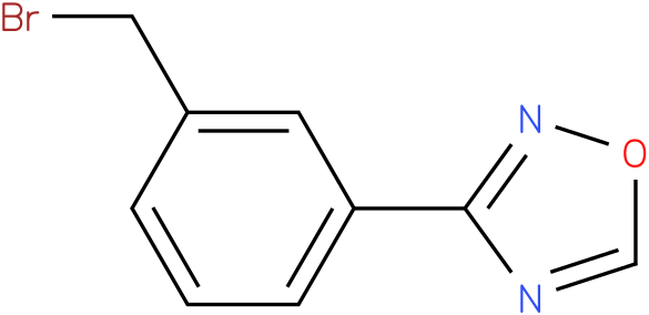 3-(3-(bromomethyl)phenyl)-1,2,4-oxadiazole