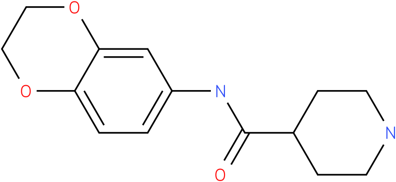 Piperidine-4-carboxylic acid (2,3-dihydro-benzo[1,4]dioxin-6-yl)-amide