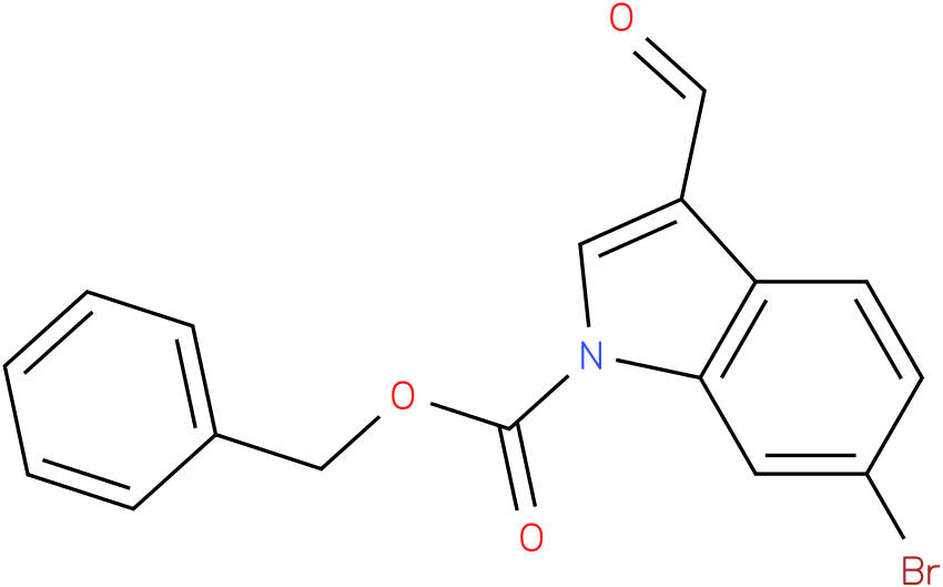 BENZYL 6-BROMO-3-FORMYL-1H-INDOLE-1-CARBOXYLATE