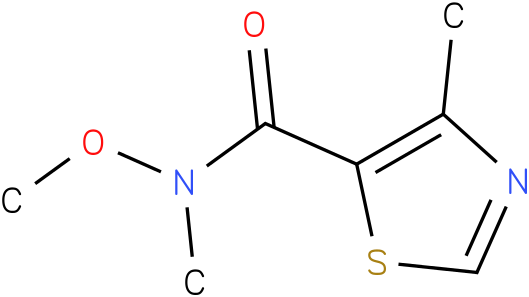 N-methoxy-N,4-dimethylthiazole-5-carboxamide