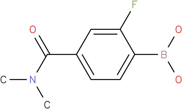 4-(DIMETHYLCARBAMOYL)-2-FLUOROPHENYLBORONIC ACID
