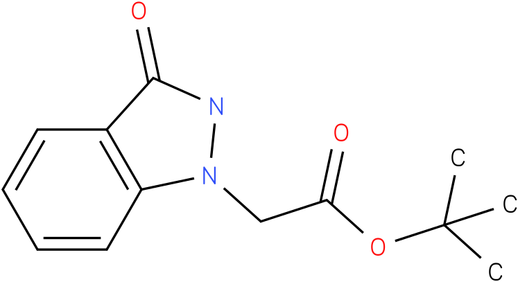 tert-butyl 2-(3-oxo-2,3-dihydro-1H-indazol-1-yl)acetate