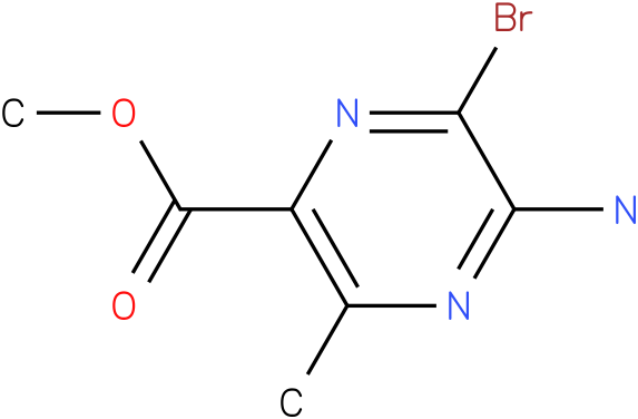 METHYL 2-AMINO-3-BROMOPYRAZINE-5-CARBOXYLIC ACID,METHYL ESTER