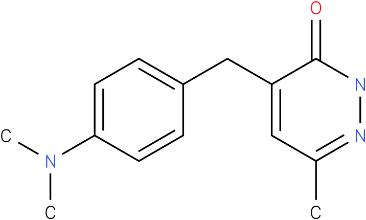 4-(4-Dimethylamino-benzyl)-6-methyl-2H-pyridazin-3-one