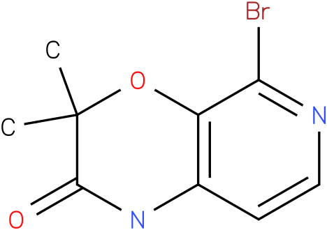 5-bromo-3,3-dimethyl-1H-pyrido[3,4-b][1,4]oxazin-2(3H)-one