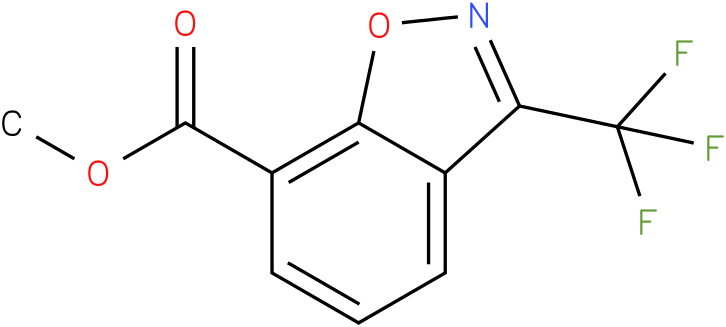 methyl 3-(trifluoromethyl)benzo[d]isoxazole-7-carboxylate
