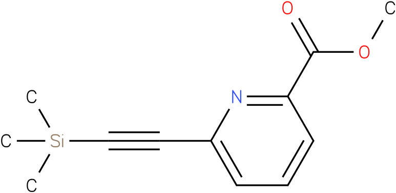 methyl 6-((trimethylsilyl)ethynyl)picolinate