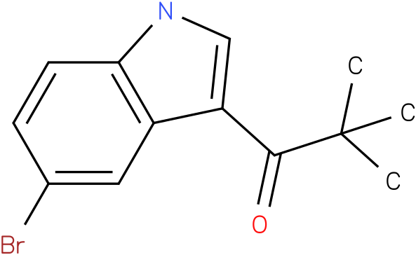 1-(5-BROMO-1H-INDOL-3-YL)-2,2-DIMETHYLPROPAN-1-ONE