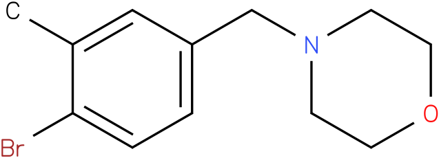 4-(4-bromo-3-methylbenzyl)morpholine