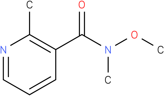 N-methoxy-N,2-dimethylnicotinamide