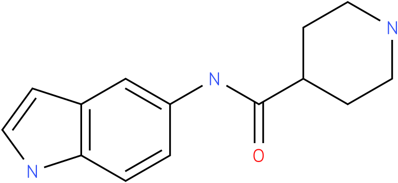 Piperidine-4-carboxylic acid (1H-indol-5-yl)-amide