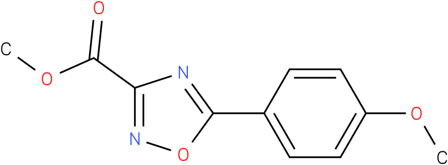 METHYL 5-(4-METHOXYPHENYL)-1,2,4-OXADIAZOLE-3-CARBOXYLATE