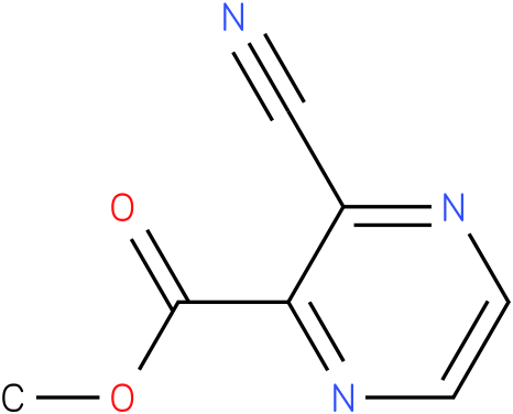 methyl 3-cyanopyrazine-2-carboxylate