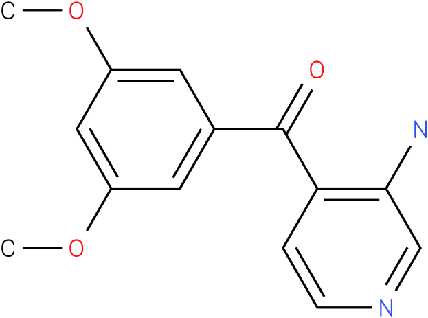(3-Amino-pyridin-4-yl)-(3,5-dimethoxy-phenyl)-methanone