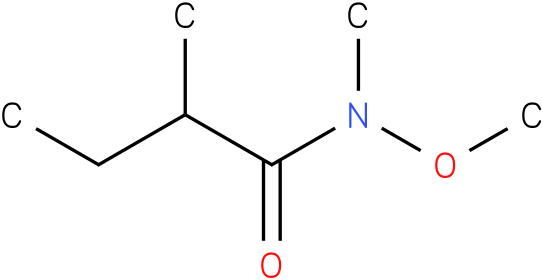 N-methoxy-N,2-dimethylbutanamide