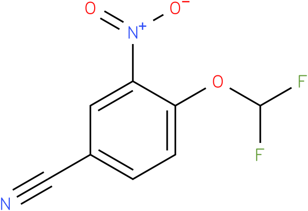 4-(difluoromethoxy)-3-nitrobenzonitrile