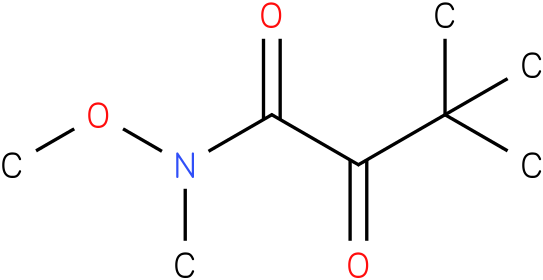 N-methoxy-N,3,3-trimethyl-2-oxobutanamide