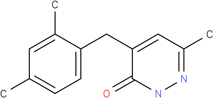 4-(2,4-Dimethyl-benzyl)-6-methyl-2H-pyridazin-3-one