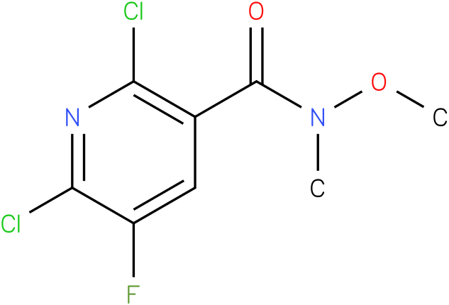2,6-dichloro-5-fluoro-N-methoxy-N-methylnicotinamide