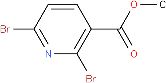 methyl 2,6-dibromonicotinate