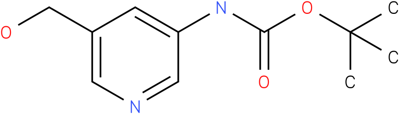 tert-butyl 5-(hydroxymethyl)pyridin-3-ylcarbamate