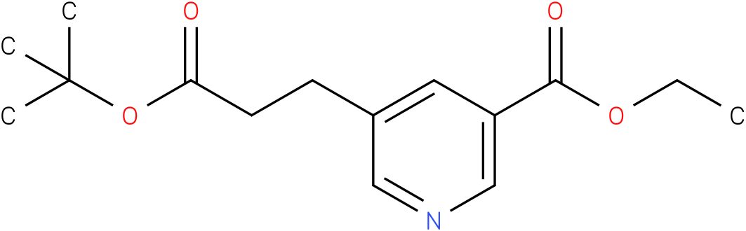 ethyl 5-(3-tert-butoxy-3-oxopropyl)nicotinate