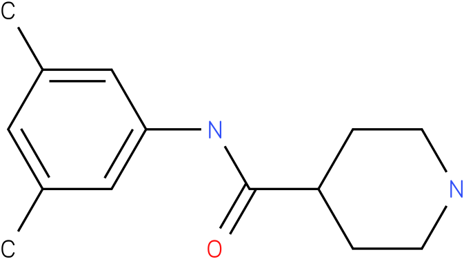 Piperidine-4-carboxylic acid (3,5-dimethyl-phenyl)-amide