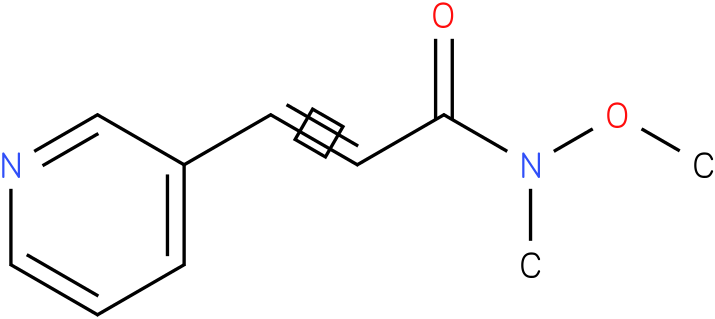 N-methoxy-N-methyl-3-(pyridin-3-yl)acrylamide