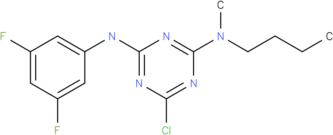 N-Butyl-6-chloro-N'-(3,5-difluoro-phenyl)-N-methyl-[1,3,5]triazine-2,4-diamine