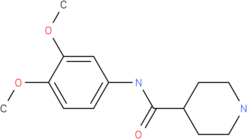Piperidine-4-carboxylic acid (3,4-dimethoxy-phenyl)-amide