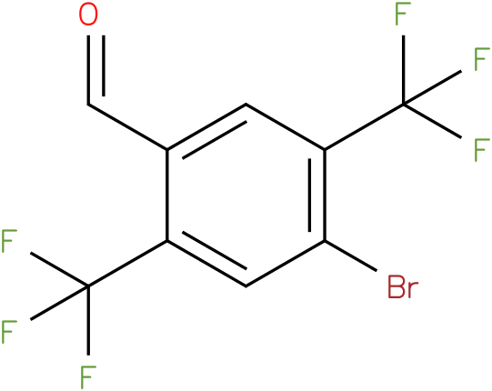 4-bromo-2,5-bis(trifluoromethyl)benzaldehyde