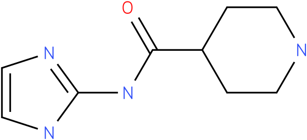 Piperidine-4-carboxylic acid (1H-imidazol-2-yl)-amide