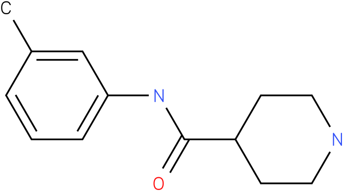 Piperidine-4-carboxylic acid m-tolylamide