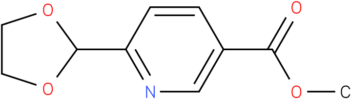 methyl 6-(1,3-dioxolan-2-yl)nicotinate